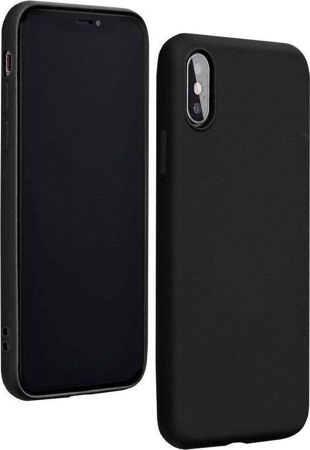 Etui Silicone Huawei P40 Lite czarny /black 1
