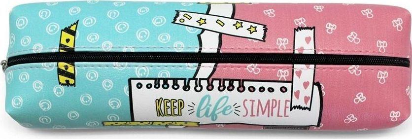Piórnik Make Notes Keep Life Simple Piórnik duży HPY-PCL-E 1