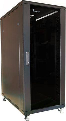Szafa ExtraLink EXTRALINK 32U 800X800 STANDING RACKMOUNT CABINET BLACK 1