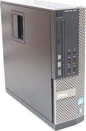 Komputer Dell Dell Optiplex 7010 SFF i3-3220 2x3.3GHz 4GB 120GB SSD DVD Windows 10 Home PL uniwersalny 1