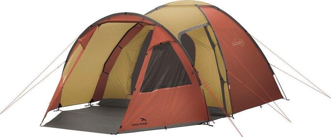 Namiot turystyczny Easy Camp Eclipse 500 czerwony 1