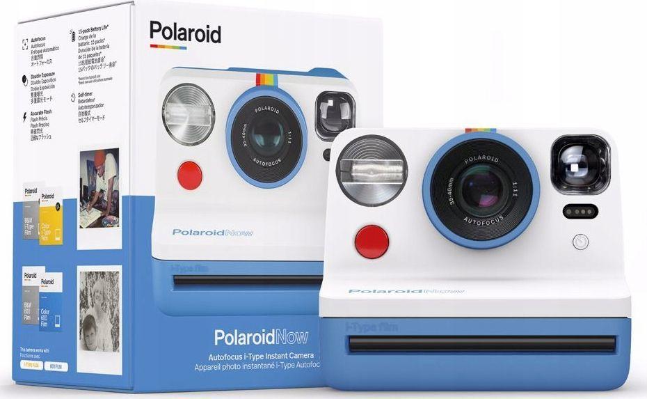 Aparat cyfrowy Polaroid Now Niebieski 1