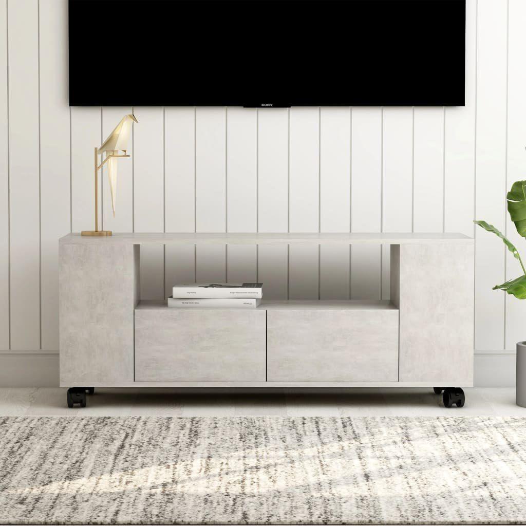 vidaXL VidaXL Szafka pod TV, betonowa szarość, 120x35x43 cm, płyta wiórowa 1