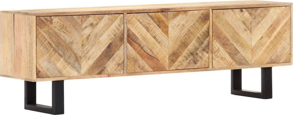vidaXL VidaXL Szafka pod TV, 140x30x45 cm, lite drewno mango 1
