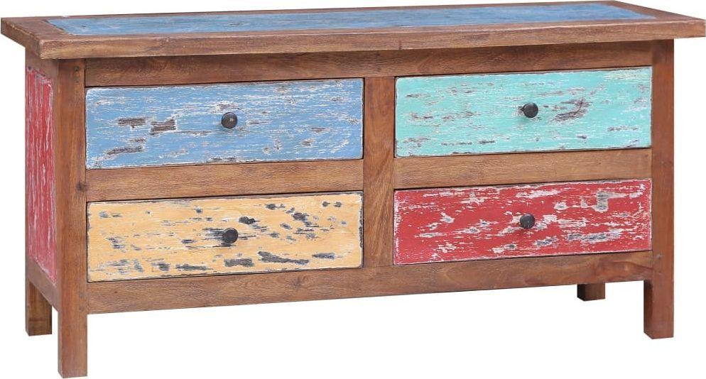 vidaXL VidaXL Szafka pod TV, 102 x 35 x 50 cm, lite drewno z odzysku 1