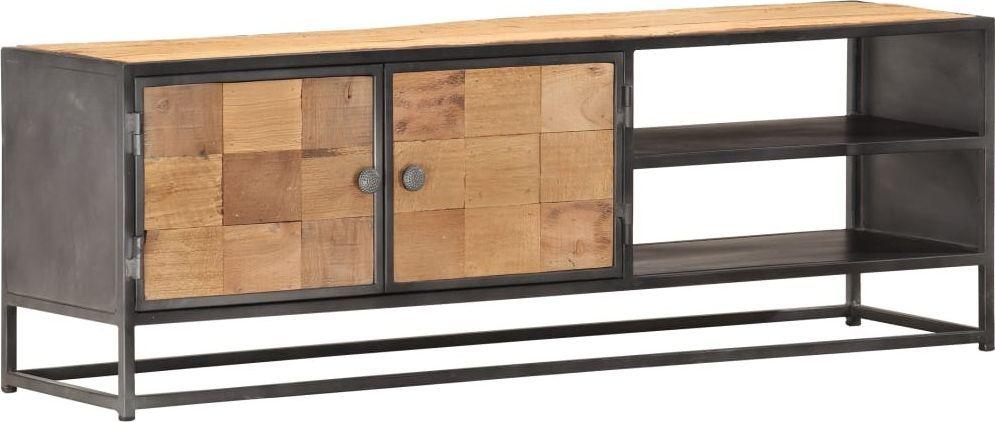 vidaXL VidaXL Szafka pod TV, 120x30x40 cm, lite drewno odzyskane 1