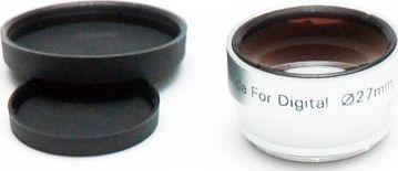 Konwerter Emolux Konwerter WIDE 0,45x na 52mm srebrny 1