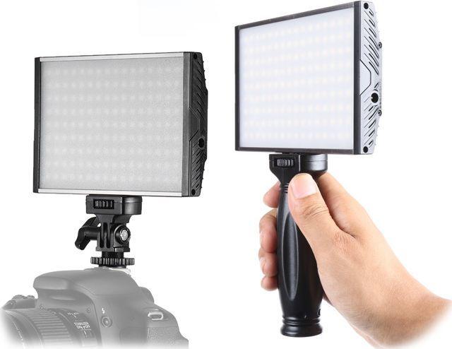 Tolifo Lampa Diodowa LED 15W / SLIM / Regulacja Temperatury Barwowej + Uchwyt do Ręki 1
