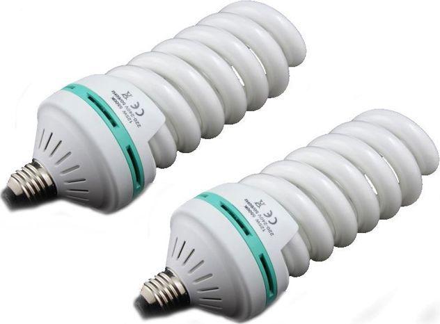 Lampa studyjna Massa 2x Żarówka studyjna 125W / 600W / TYP: 5 1