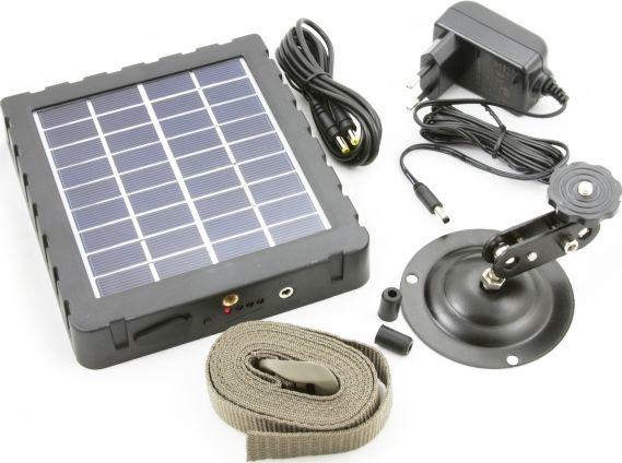 Xrec Panel Słoneczny 3000mAh + Zasilacz 100-240V do Fotopułapki / Kamery Leśnej (SB4047) - SB4047 1