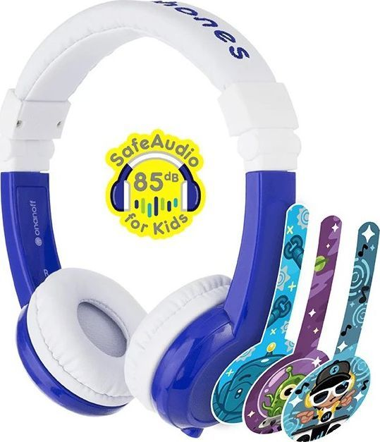 Słuchawki BuddyPhones Explore (BP-EX-FD-BLUE-01-K)  1