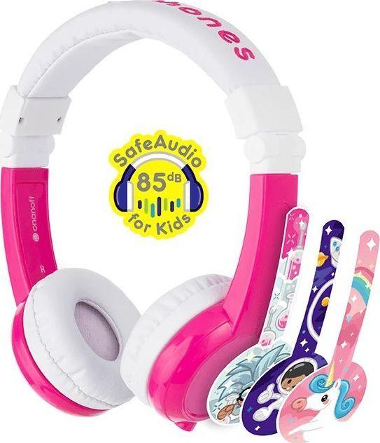 Słuchawki BuddyPhones Explore (BP-EX-FD-PINK-01-K) 1