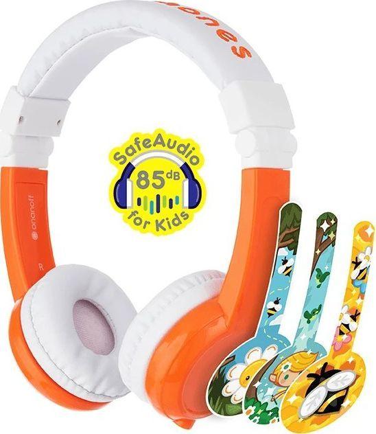 Słuchawki BuddyPhones Explore (BP-EX-FD-ORANGE-01-K)  1