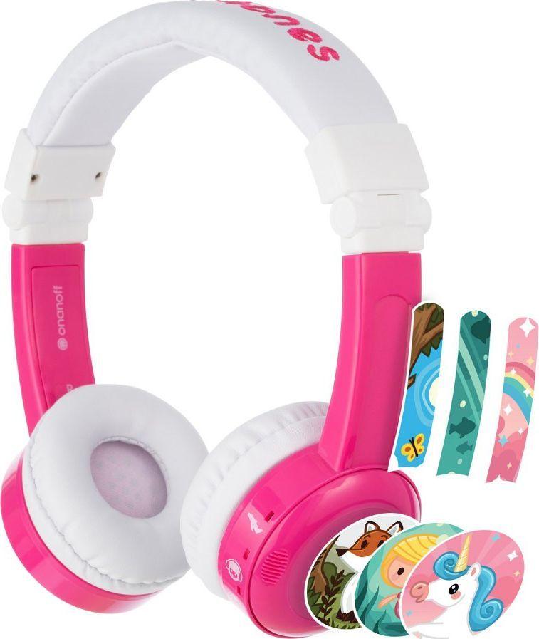 Słuchawki BuddyPhones InFlight (BP-IF-PINK-01-K)  1