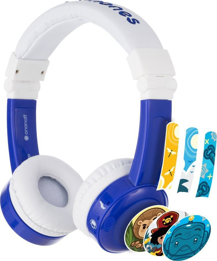 Słuchawki BuddyPhones InFlight (BP-IF-BLUE-01-K)  1