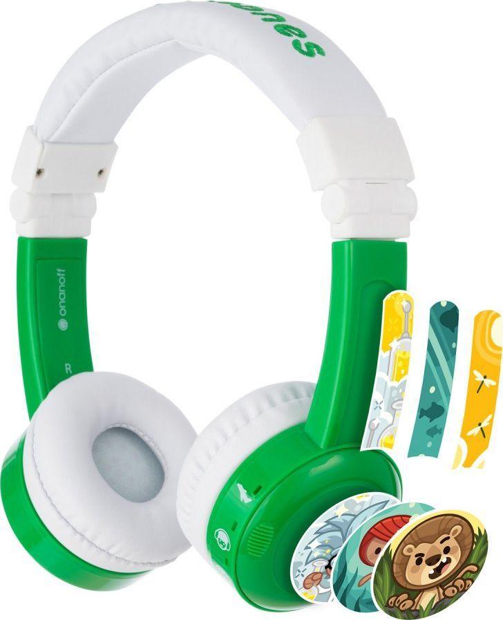 Słuchawki BuddyPhones InFlight (BP-IF-GREEN-01-K)  1