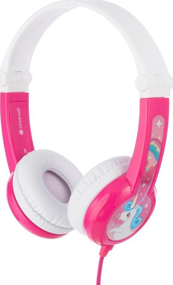 Słuchawki BuddyPhones Connect (BP-CO-PINK-01-K) 1