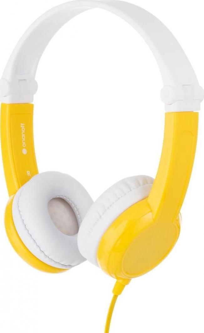 Słuchawki BuddyPhones Connect (BP-CO-YELLOW-01-K) 1