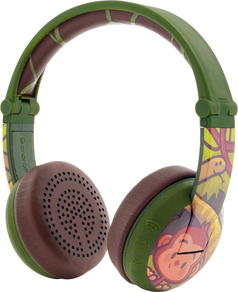 Słuchawki BuddyPhones Wave Monkey (BT-BP-WV-MONKEY) 1