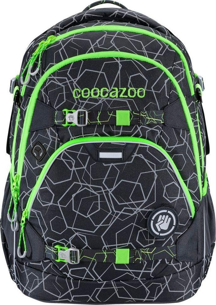 Coocazoo Plecak szkolny ScaleRale Laserreflect Sollar-Green 1