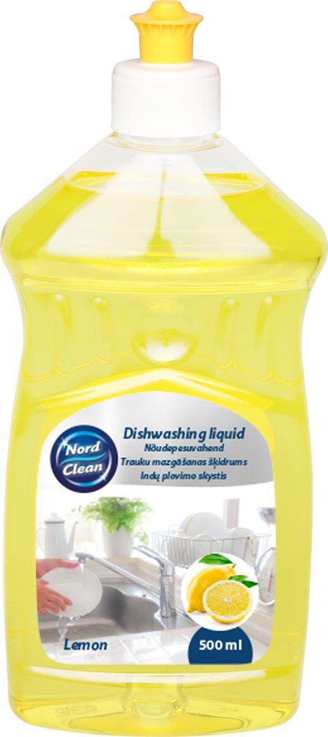 Nord Clean  Płyn do naczyń o zapachu cytryny 500 ml 1