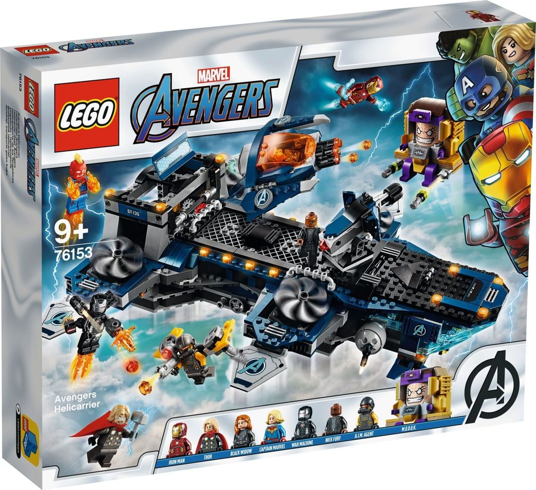 LEGO Avengers Lotniskowiec (76153) 1