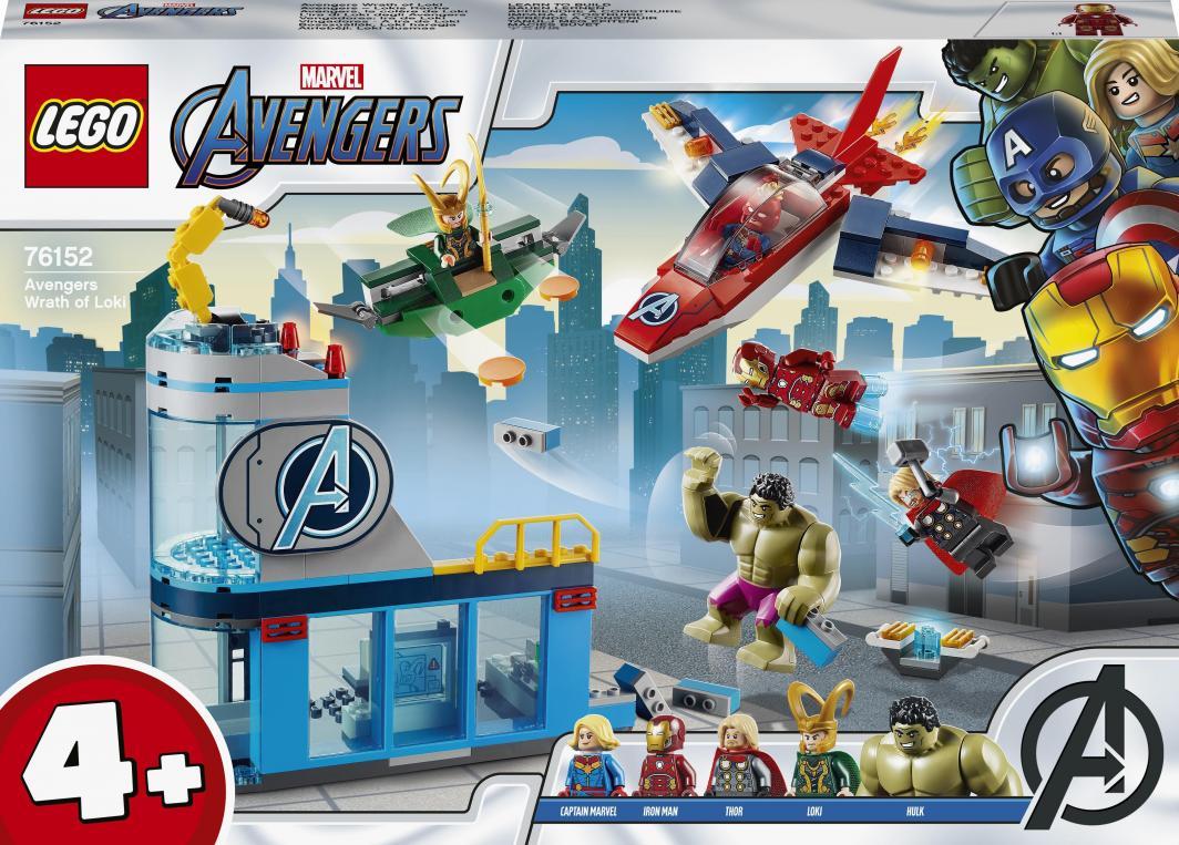 LEGO Avengers Gniew Lokiego (76152) 1
