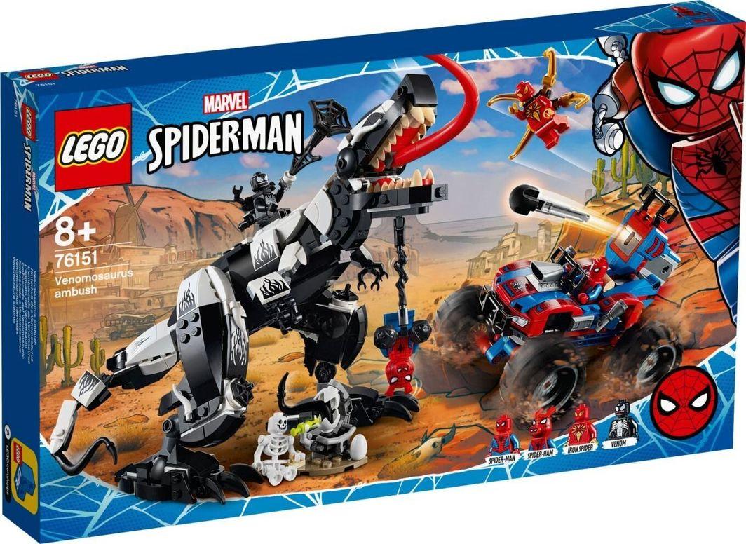 LEGO Spiderman Spider-Man Starcie z Venomozaurem (76151) 1