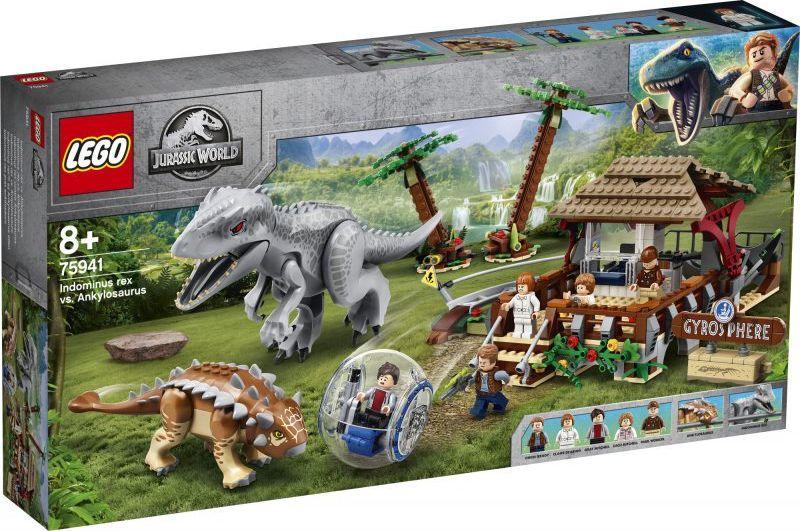 LEGO Jurassic World Indominus Rex kontra ankylozaur (75941) 1