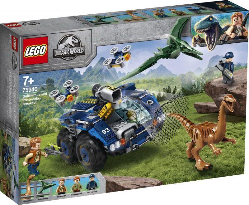 LEGO Jurassic World Gallimim i pteranodon: ucieczka (75940) 1