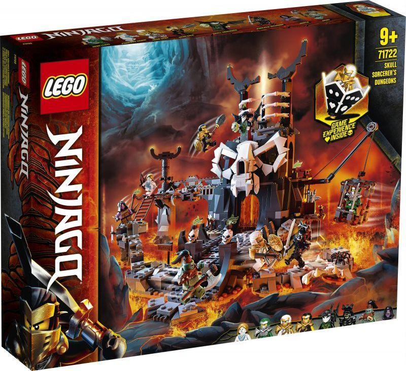 LEGO Ninjago Lochy Szkieletowego Czarownika (71722) 1
