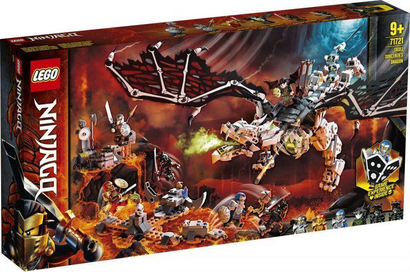 LEGO Ninjago Smok Szkieletowego Czarownika (71721) 1