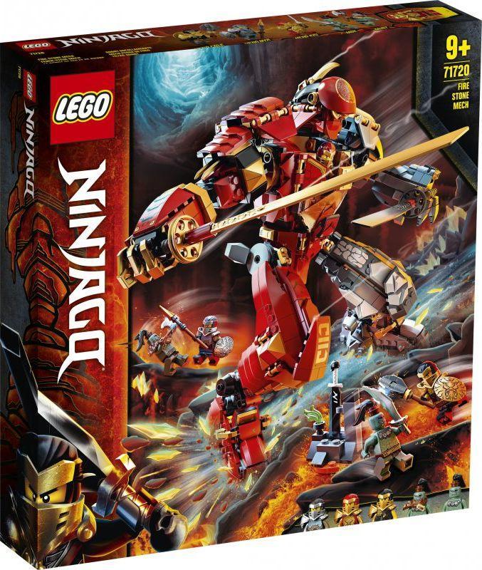 LEGO Ninjago Mech z ognia i kamienia (71720) 1