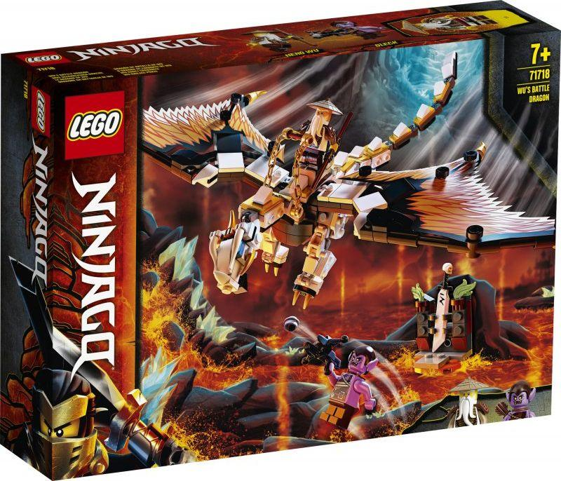 LEGO Ninjago Bojowy smok Wu (71718) 1