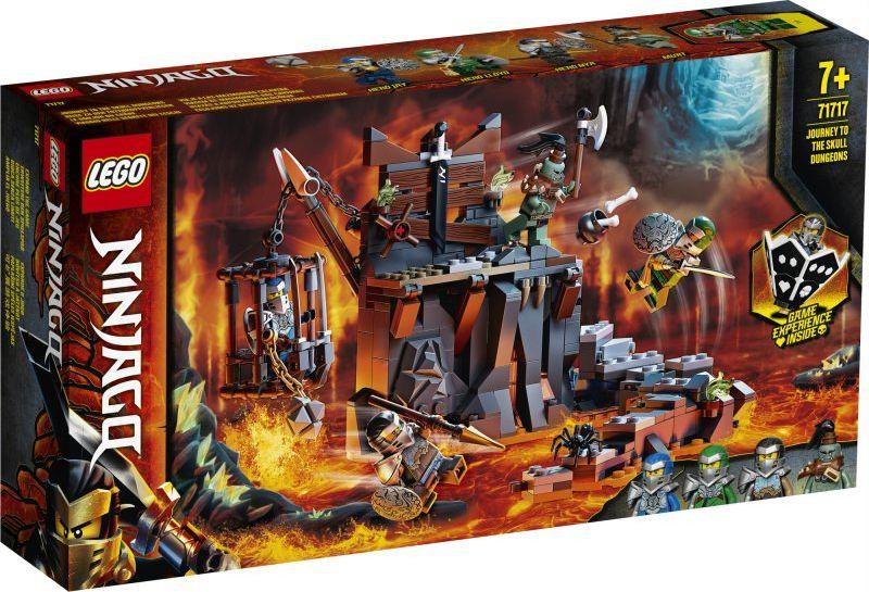 LEGO Ninjago Podróż do Lochów Czaszki (71717) 1