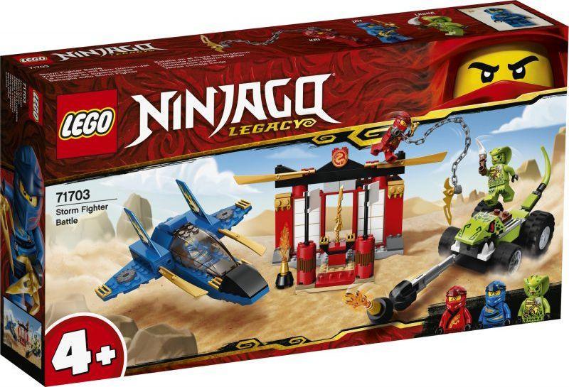 LEGO Ninjago Bitwa burzowego myśliwca (71703) 1
