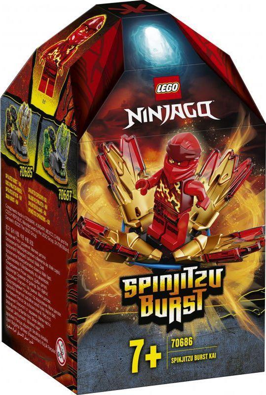 LEGO Ninjago Wybuch Spinjitzu Kai (70686) 1