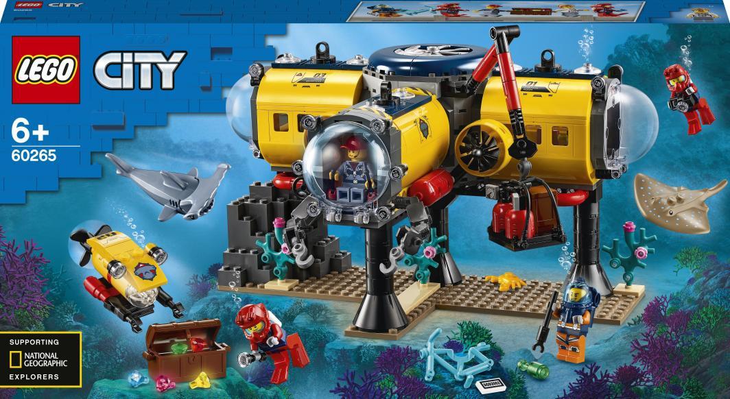 LEGO City Baza badaczy oceanu (60265) 1
