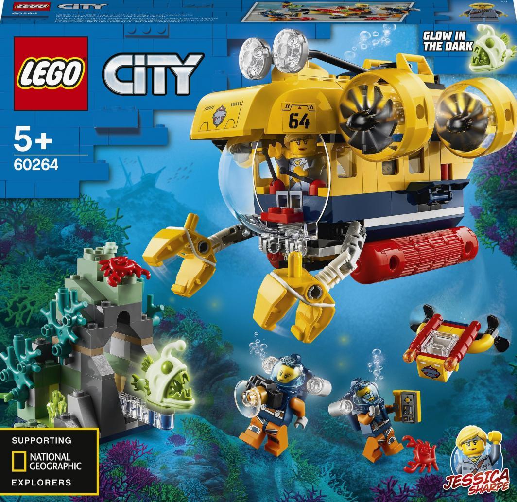 LEGO City Łódź podwodna badaczy oceanu (60264) 1