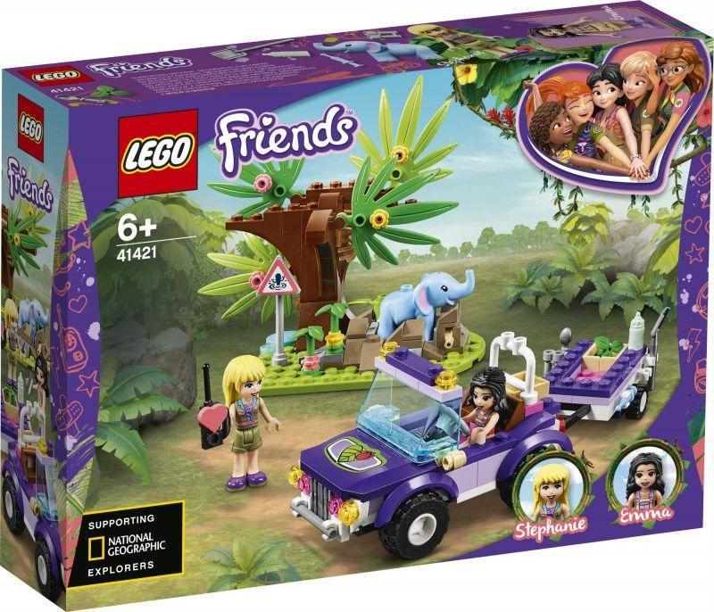 LEGO Friends Na ratunek słoniątku (41421) 1