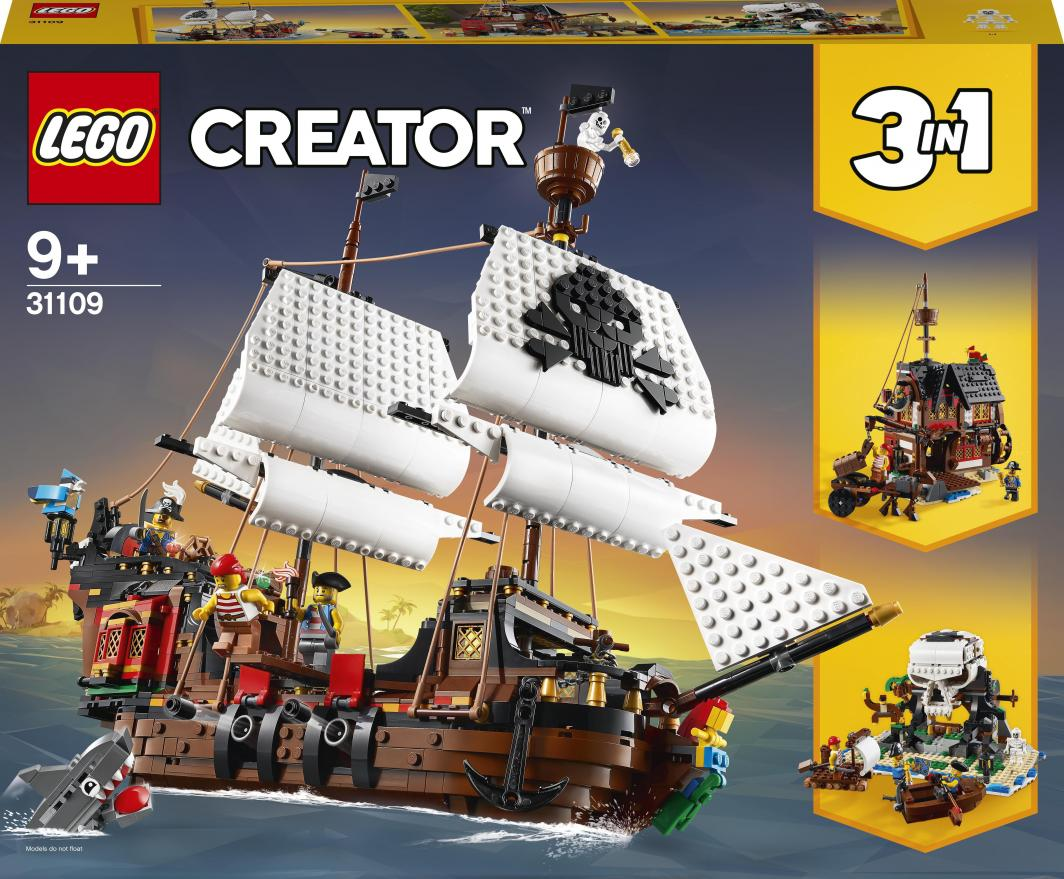 LEGO Creator Statek piracki (31109) 1