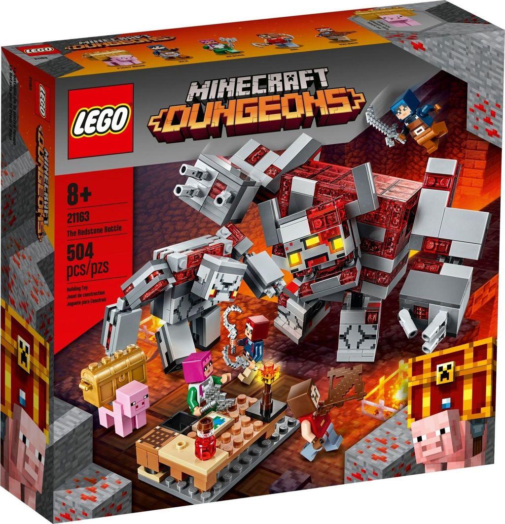 LEGO Minecraft Dungeons Bitwa o czerwony kamień (21163) 1