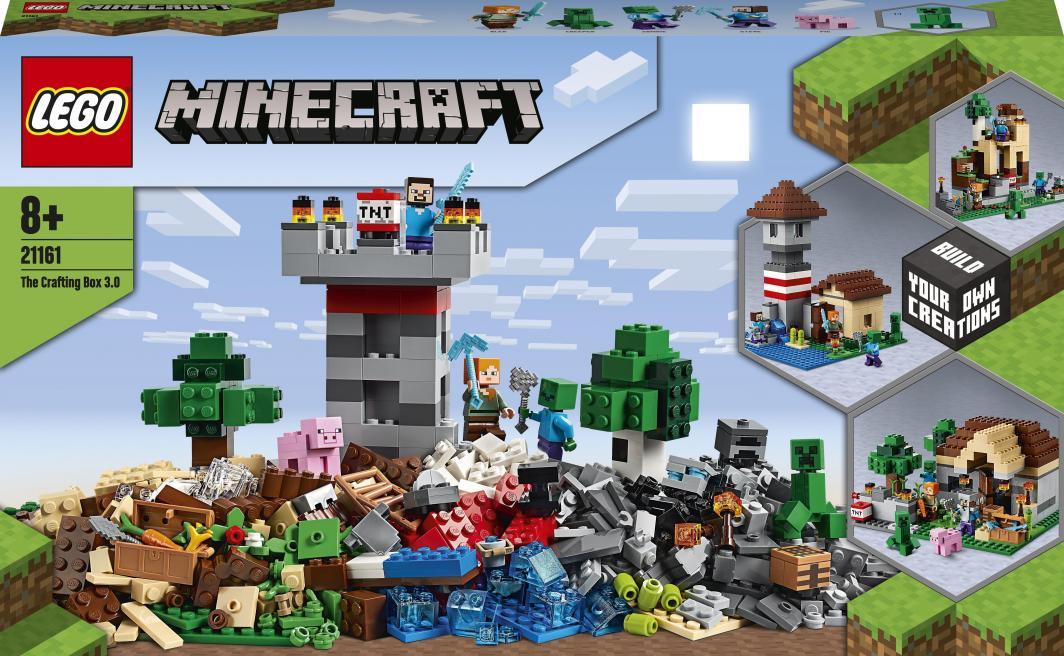 LEGO Minecraft Kreatywny warsztat 3.0 (21161) 1