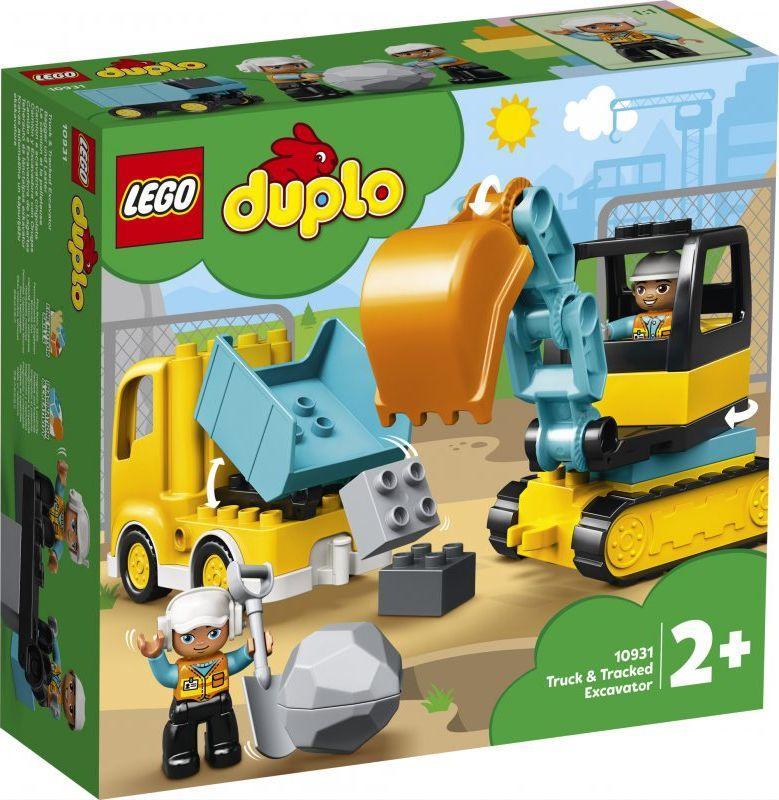 LEGO Duplo Ciężarówka i koparka gąsienicowa (10931) 1