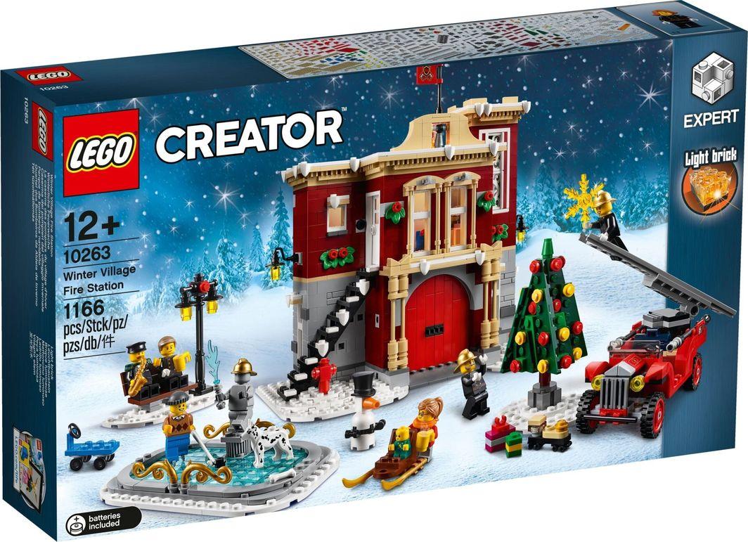 LEGO Creator Expert Remiza strażacka w zimowej wiosce (10263) 1