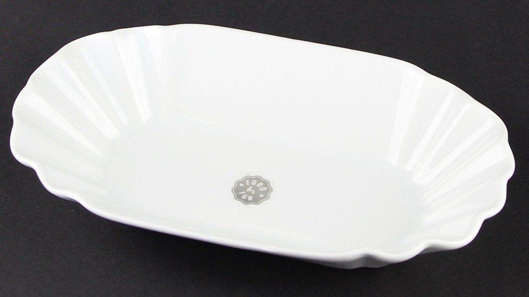 Porcelanowy półmisek do serwowania dań 19,5x12x3,5 cm 1