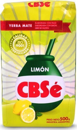 CBSe Yerba mate CBSe Limon cytrynowa 500g 1