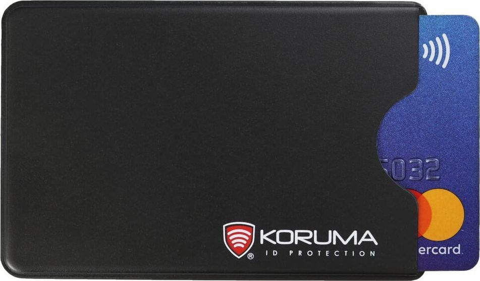 KORUMA Plastikowe etui antykradzieżowe RFID (czarny) - KUK-69VBL Koruma Uniwersalny 1