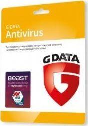 Gdata AntiVirus Card 1 urządzenie 12 miesięcy  (C1001KK12001) 1