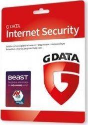 Gdata G DATA INTERNET SECURITY 2PC 1 ROK KARTA-KLUCZ 1